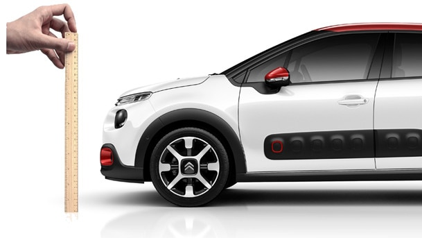 dimension nouvelle citroen C3, new, size