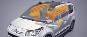 Citroën C3 Picasso Airbags