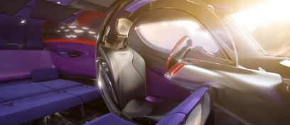 Concept-car Citroën Tubik - Colores y materiales