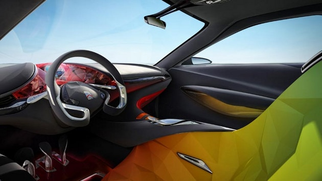Concept-car Citroën Hypnos - Un espacio interior creativo
